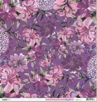 Scrapbooking Papier Violet Crush - Mauve (Restbestand)