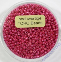 Pracht Toho-Beads 2,2mm metallic pink