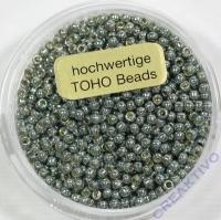 Pracht Toho-Beads 2,2mm metallic grau