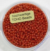 Pracht Toho-Beads 2,2mm metallic orange