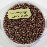 Pracht Toho-Beads 2,2mm metallic braun