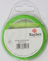 Rayher Organzaband 7mm 10m grün