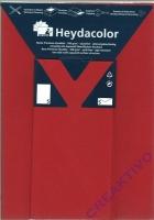 Heyda Color Set Briefbogen und Kuvert Din lang rot