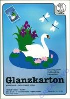 Glanzkarton 10 Blatt 23x33cm