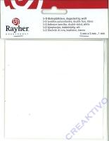 Rayher 3-D Klebeplättchen doppelseitig 5 x 5mm 1mm hoch