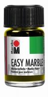Easy marble Marmorierfarbe 15ml zitrone