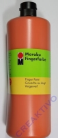 Marabu Fingerfarbe 1000ml orange (Restbestand)