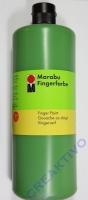 Marabu Fingerfarbe 1000ml grün (Restbestand)