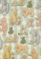 Transparentpapier Teddy geprägt (Restbestand)