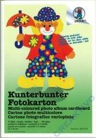Kunterbunter Fotokarton 23x33cm 10 Blatt