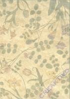 Fotokarton A4 - Blumen geprägt (Restbestand)