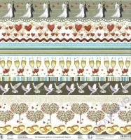 Premium Glitter Scrapbook paper Hochzeit 2 - 91
