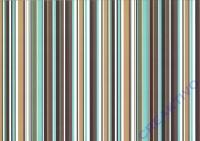 Bastelkarton Linus 300g/qm 50x70cm braun/türkis/weiß (Restbestand)