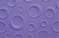 Prägekarton Bubbles 220g/qm DinA4 lila (Restbestand)