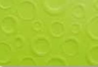 Prägekarton Bubbles 220g/qm DinA4 hellgrün (Restbestand)