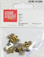 Bienen 20mm 4 Stück