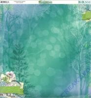 Scrapbooking Papier Enchanted Garden (Restbestand)
