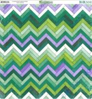 Scrapbooking Papier Enchanted Garden - Mosaic (Restbestand)