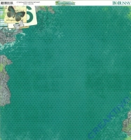 Scrapbooking Papier Enchanted Garden - Pathway (Restbestand)