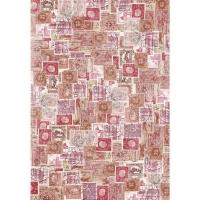 DecoMaché Papier Motiv 68 - Stamps