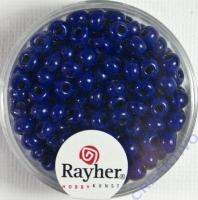 Indianerperlen, 4,5 mm ø dunkelblau
