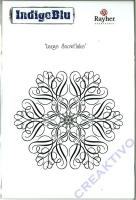 IndigoBlu Stempel A6 - Large snowflake