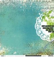 Scrapbooking Papier Kaisercraft Kaleidoscope - Mosaic (Restbestand)