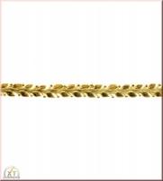 Rayher Wachsborte, 24x1,2 cm, gold, 1 Stück