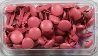 Rayher Brads rund 8 mm 60 Stück rosé (Restbestand)