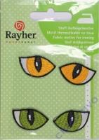 Stoff-Aufbügelmotiv Cat Eyes