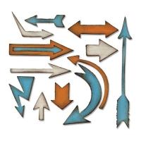 Sizzix Bigz Die - Artful Arrows