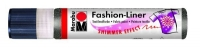Marabu Fashion-Liner  25ml schimmer-schwarz