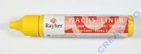 Rayher Wachsliner 30ml goldgelb