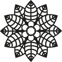 Marabu Silhouette-Schablone 15 x 15 cm Primrose (Restbestand)