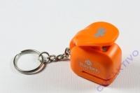 Ministanzer mit Schlüsselanhänger Schmetterling