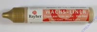 Rayher Wachsliner 30ml brill.gold