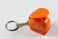 Ministanzer mit Schlüsselanhänger Elchkopf