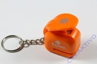 Ministanzer mit Schlüsselanhänger Schneeflocke