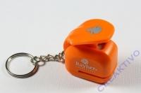 Ministanzer mit Schlüsselanhänger Schneemann