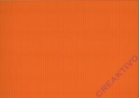 Bastelwellkarton 50x70 cm orange