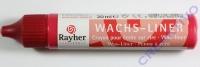 Rayher Wachsliner 30ml klassikrot