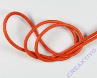 Rundriemen Lederband aus Rindleder 100cm 2mm orange