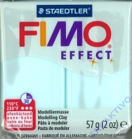 Fimo Effekt Modelliermasse 57g Edelstein - eiskristallblau