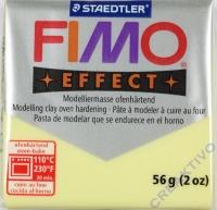 Fimo Effekt Modelliermasse 56g Edelstein - zitrin