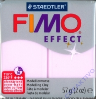 Fimo Effekt Modelliermasse 57g Edelstein - rosenquarz