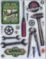 Silikon-Stempel Vintage Tools