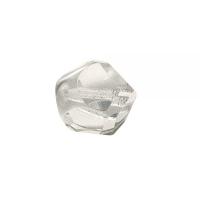Glasschliffperle: Fancy Cut 12mm bergkristall (Restbestand)