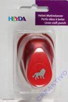 Heyda Hebel-Motivstanzer klein Löwe