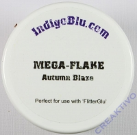 IndigoBlu Deco-Metall-Flocken Mega Flake Autumn Blaze 1,5g