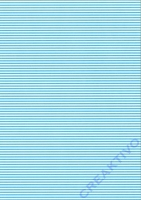 Streifen-Fotokarton DIN A4 hellblau
